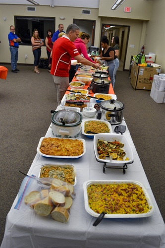 Annual Thanksgiving Company Potluck